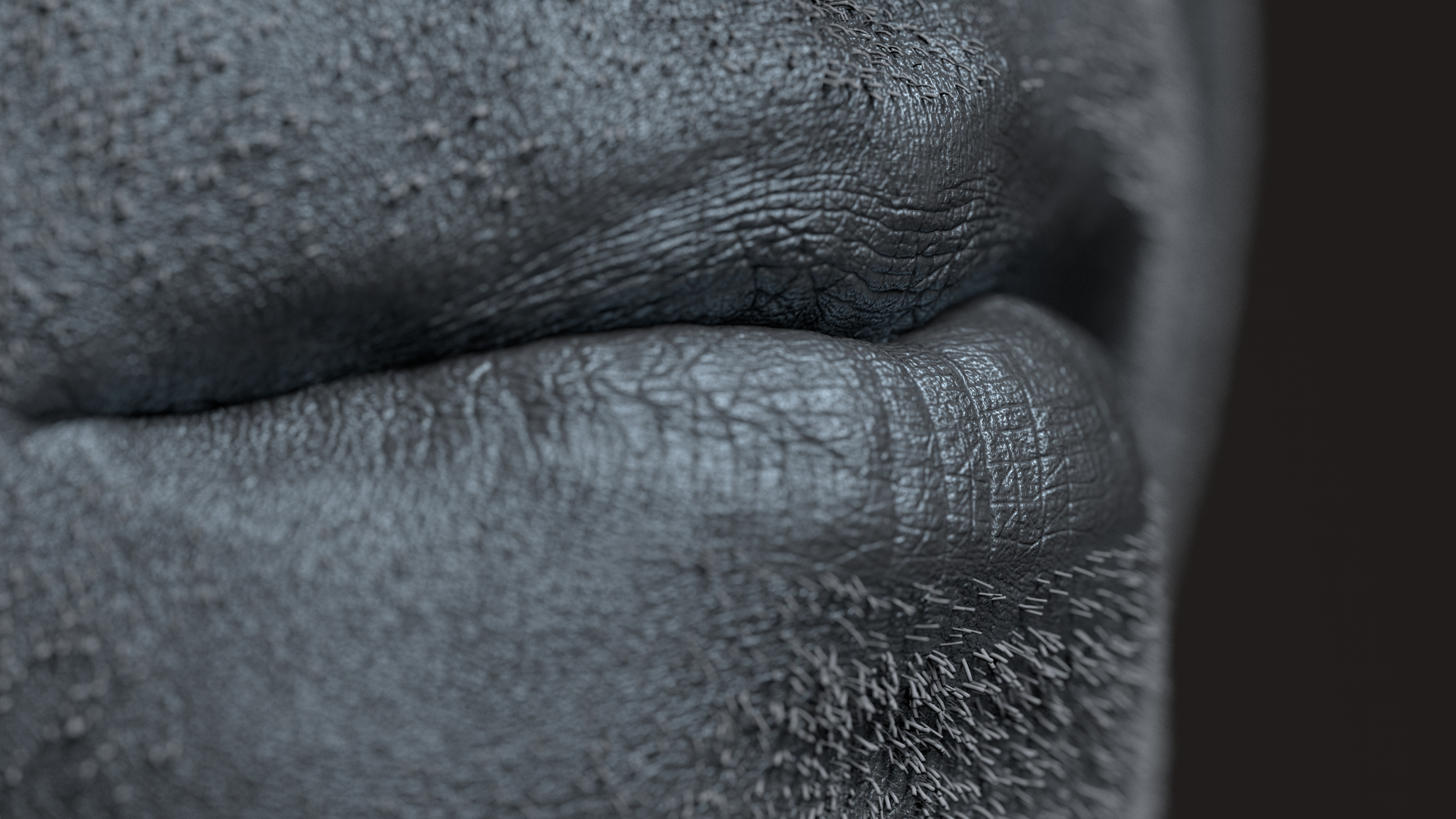 Mouth-shot_DOF_Disp & Hair 4K